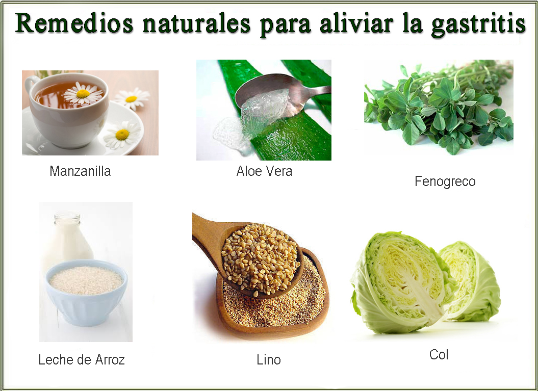 Remedios Naturales para la Gastritis - Barcelona Alternativa
