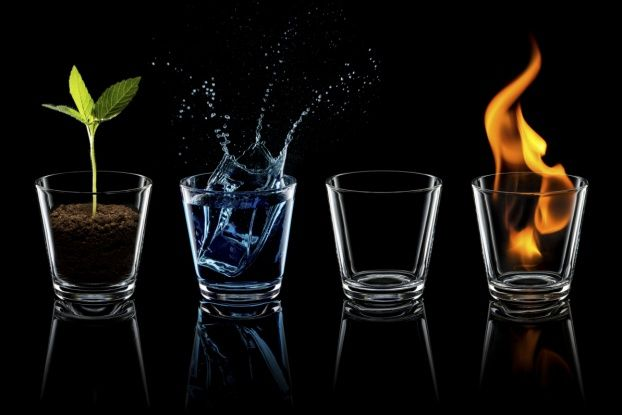 TEST: TIERRA, AGUA, FUEGO, AIRE