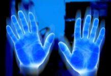 energía manos